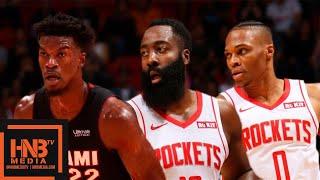 Houston Rockets vs Miami Heat - Full Game Highlights | November 3, 2019-20 NBA Season