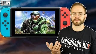 The Halo On The Nintendo Switch Rumor Sounds Crazy...I Think...