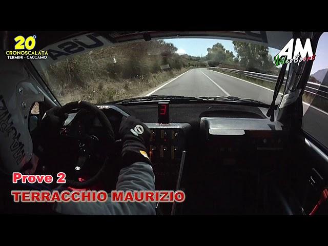 OBC Terracchio Maurizio Prove2 20° Cronoscalata Termini Caccamo HD