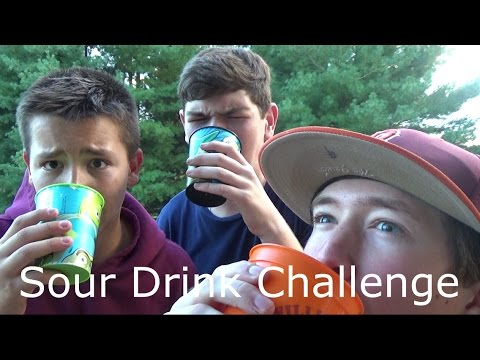 Sour Drink Challenge