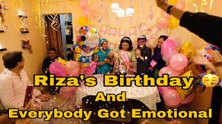 Riza's Birthday Celebration | Amma Loved The Decoration We Did | Ibrahim Family | Shoaib Ibrahim