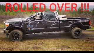 Rebuilding 2013 Ford F350 from Copart prt1 | ROLLED OVER
