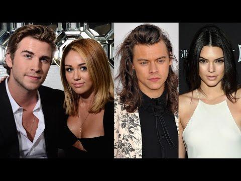 Miley y Liam, Kendall y Harry- Romances Confirmados del 2016!