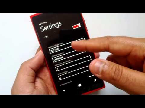 Torrent app for Windows Phone 8