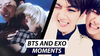 BTS & EXO MOMENTS 2018