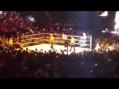 Kevin Owens entrance in Montreal WWE Live Event
