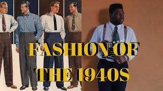 Fashion of the 1940s | Men's fashion