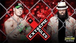 WWE Extreme Rules 2014 : John cena vs Bray Wyatt Steel Cage Match