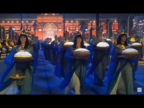The Pharaohs' Golden Parade   Egypt   Short Clip   Catch the event in 14 minutes