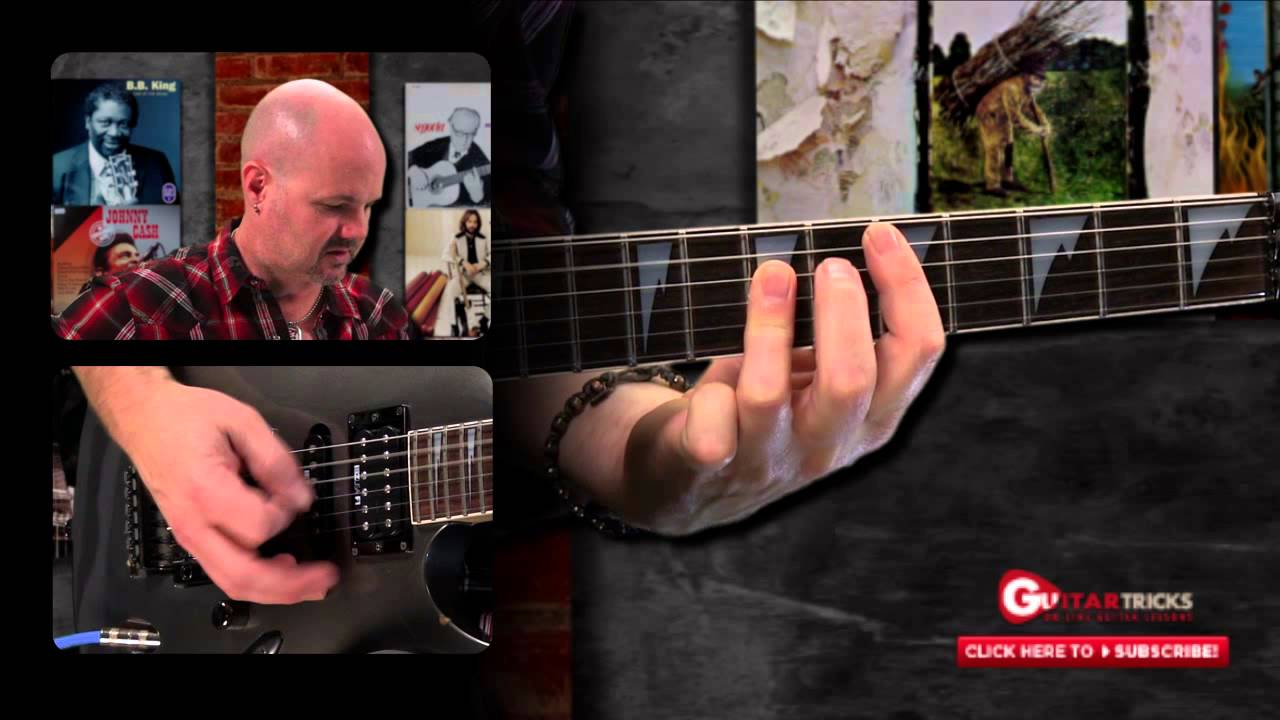 Guitar Tricks 176 80s Hair Metal Chords Youtube
