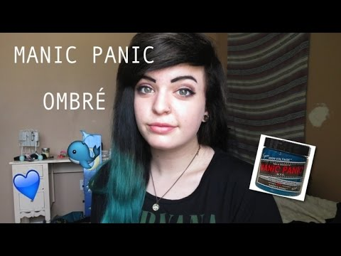 Black And Teal Ombr Manic Panic Sirens Song YouTube