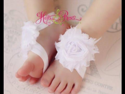 Adornos de pies para bebitas y bebitos baby diva designs - Ideas para bebes ...