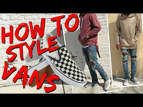 how-to-style-checkerboard-slip-on-vans