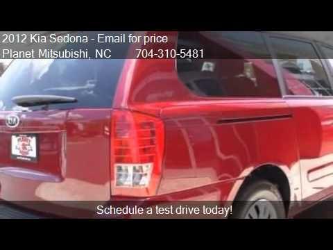Planet Mitsubishi Charlotte Nc >> 2012 Kia Sedona LX - for sale in Charlotte, NC 28213 - YouTube