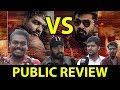 SImbu Fans VS Vijaysethupathi Fans CCV  Public Review | Chekka Chivantha Vaanam FDFS | Mp3