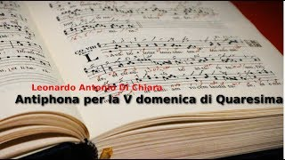 Antiphona per la V domenica di Quaresima
