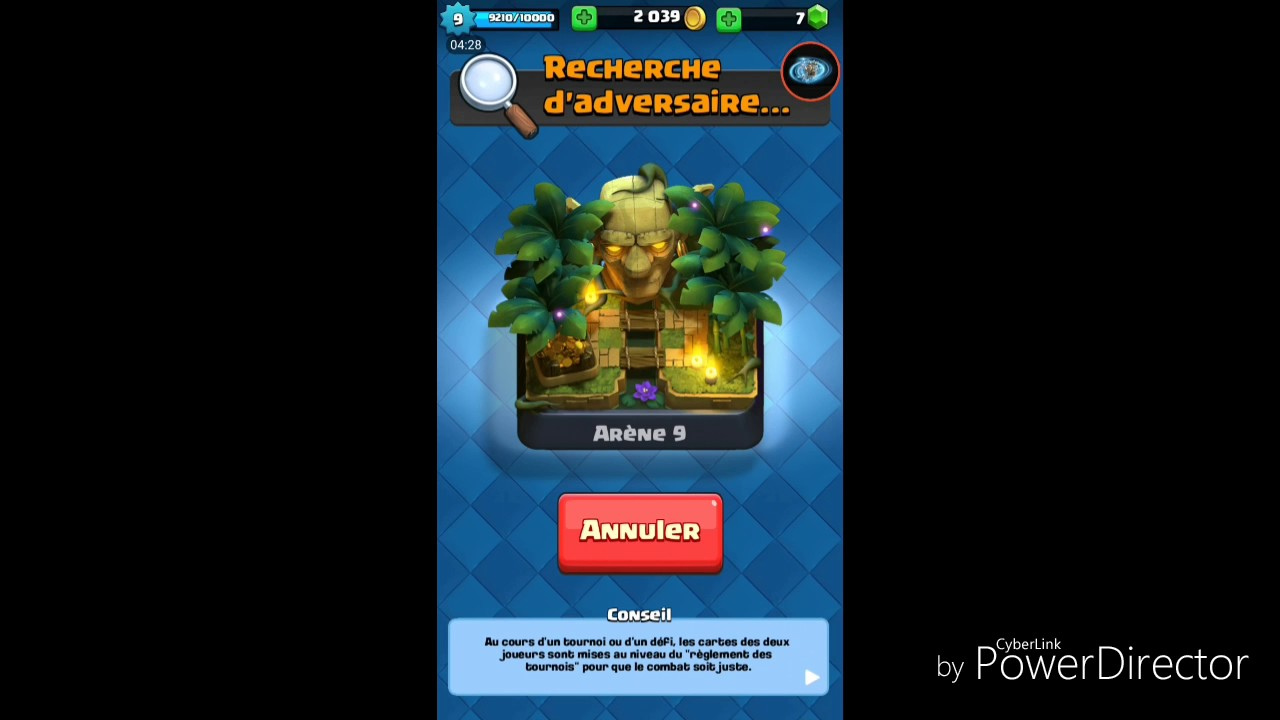 Deck arene 8 pour les abonn s clash royal youtube for Deck arene 6 miroir