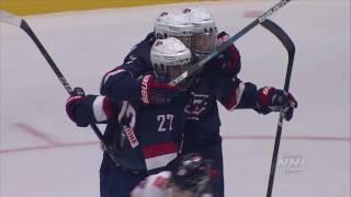 2017 U18MWC: USA vs. Switzerland (QF) Highlights