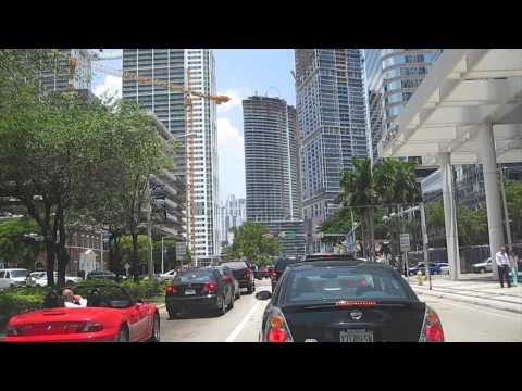 Miami Tour Downtown, Miami Beach Driving