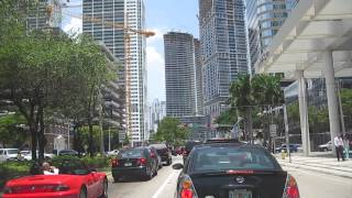 Miami Tour Downtown, Miami Beach Driving