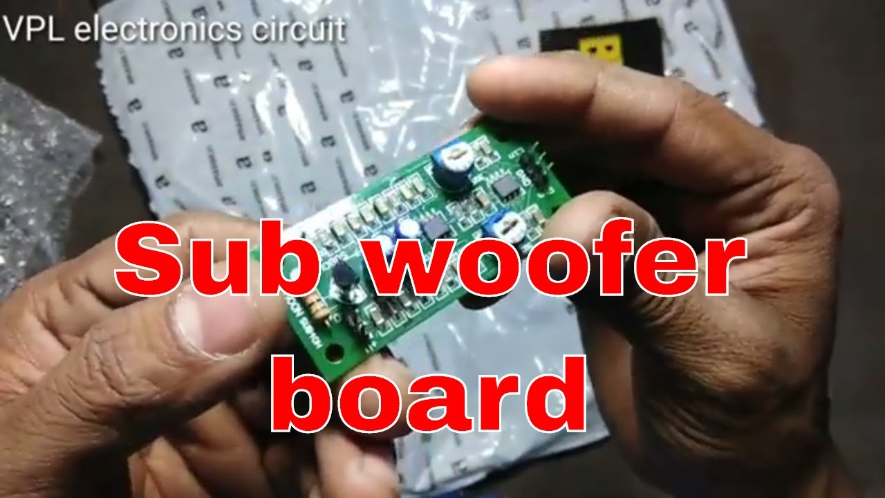 Sub Woofer Board Single Supply In Hindi How To Play Youtube Amplifier Using Tda2009a 12 Watt 15x2 Audio