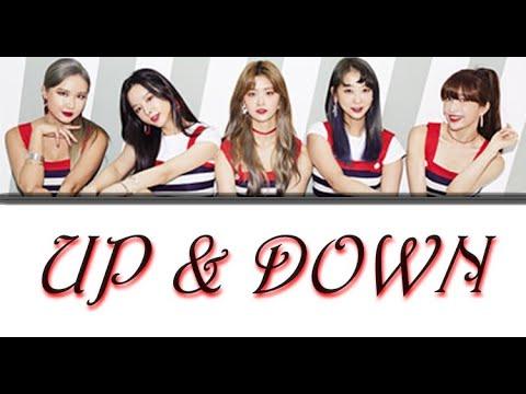 EXID - UP & DOWN Lyrics (Colour Coded)