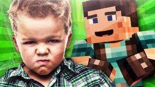 7 Year Old TROLLED In Minecraft