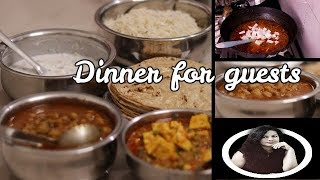Indian special dinner routine 2018 || Indian food for guests || Indian youtuber Neelam