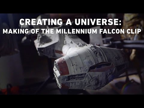 Conversations: Creating A Universe  Making of the Millennium Falcon