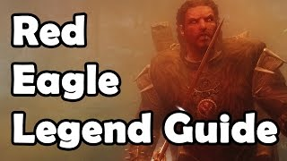 Skyrim: How to get Red Eagles Bane, Unique (The Legend of Red Eagle hidden quest)