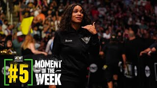 What Happened When Rosario Dawson Came Face to Face with Malakai Black?   AEW Dynamite, 9/15/21