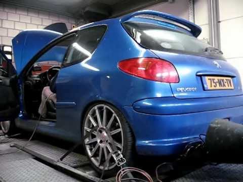 peugeot 206 rc dyno computer remap 4 youtube. Black Bedroom Furniture Sets. Home Design Ideas