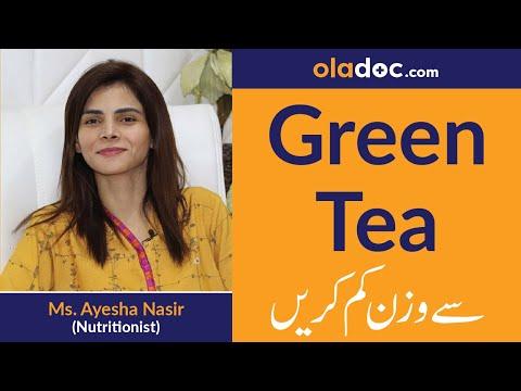 Weight Loss with Green Tea Wazan Kam Karne Ka Tarika Urdu Hindi|Green Tea Benefits Kehva Ke Fawaid