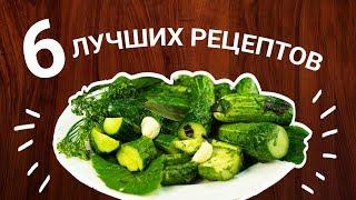 6 рецептов малосольных огурцов на любой вкус