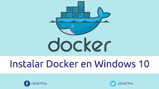 Instalar Docker en Windows 10