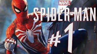 SPIDER MAN (PS4) - Parte 1: Peter Parker!!! [ Playstation 4 Pro - Playthrough ]