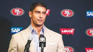 Jimmy Garoppolo Discusses Ways to Improve in Week 2