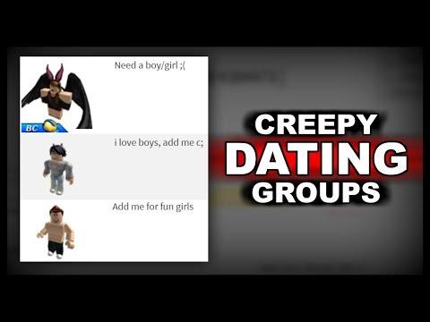 Strange Online Dating Groups On Roblox