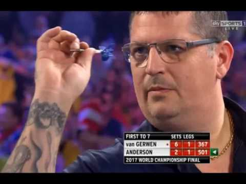 The Most 180s Scored in One Match - 2017 PDC World Championship