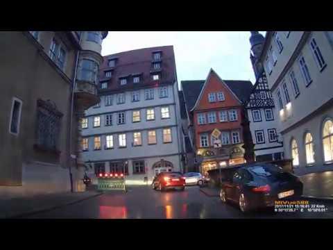 D: Coburg. Bavaria. Short Trip through the City. November 2017