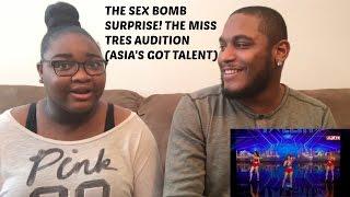 Sex Bomb Surprise! The Miss Tres Audition REACTION VIDEO