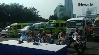 115 Kendaraan Travel Gelap Bawa Penumpang Mudik Diamankan Polisi