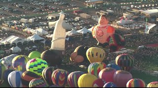 Day 2 48th annual Albuquerque International Balloon Fiesta