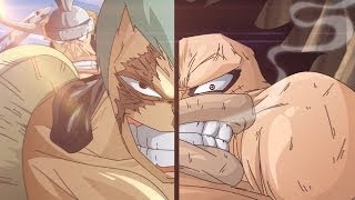 One Piece Luffy vs Cracker Full Fight (AMV) (VI6)