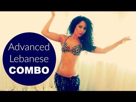 Advanced Lebanese belly dance combination
