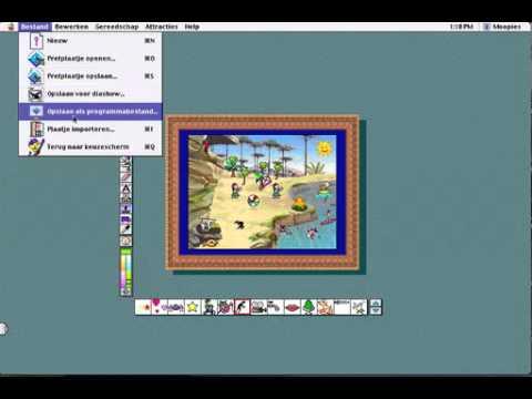 Nostalgia Gamer   Let's Play: KidsStudio / Kid Pix Studio Deluxe (1998) - YouTube