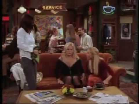 Jennifer Coolidge as Amanda on Friends