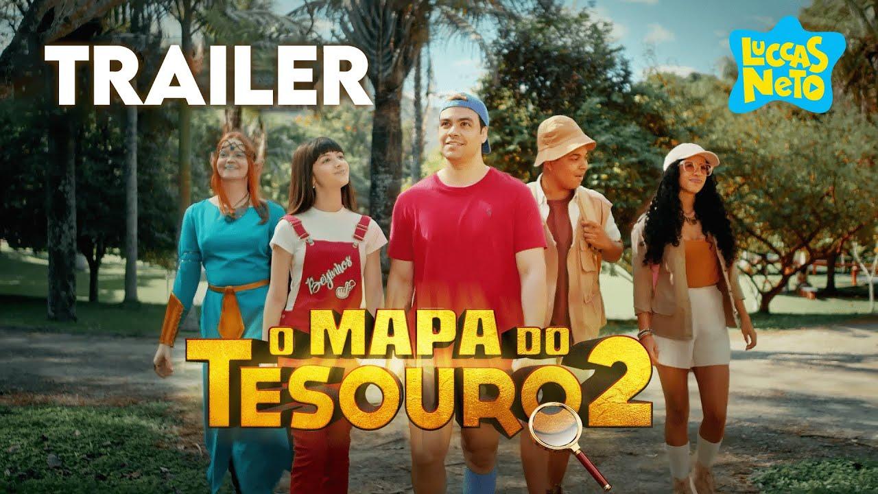 LUCCAS NETO EM: O MAPA DO TESOURO 2 (TRAILER OFICIAL)