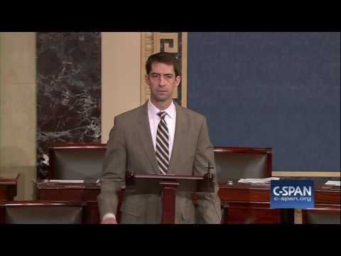 "Sen. Cotton (R-AR) on  ""cancerous leadership"" of Sen. Reid (D-NV) (C-SPAN)"