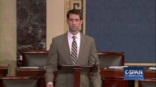 Sen. Cotton (R-AR) on  cancerous leadership of Sen. Reid (D-NV) (C-SPAN)